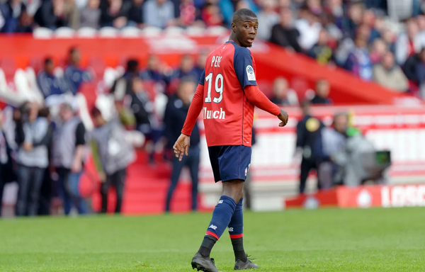 Nicolas Pepe statistical breakdown